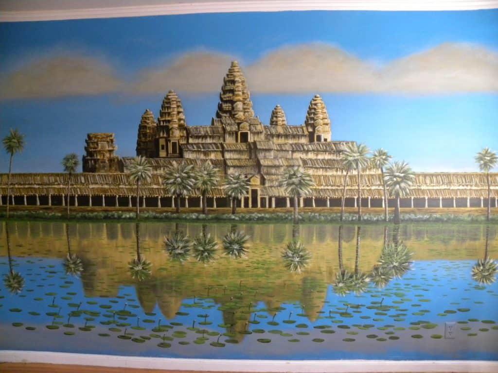 Angkor Wat mural