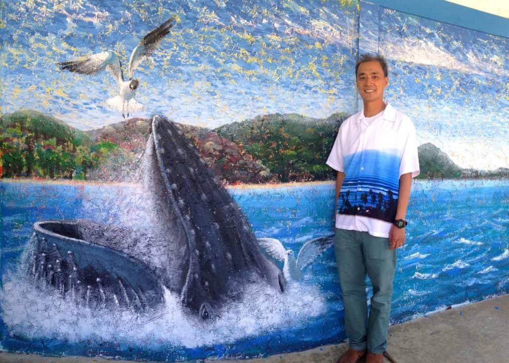 Whale Mural - Jeffrey Wong